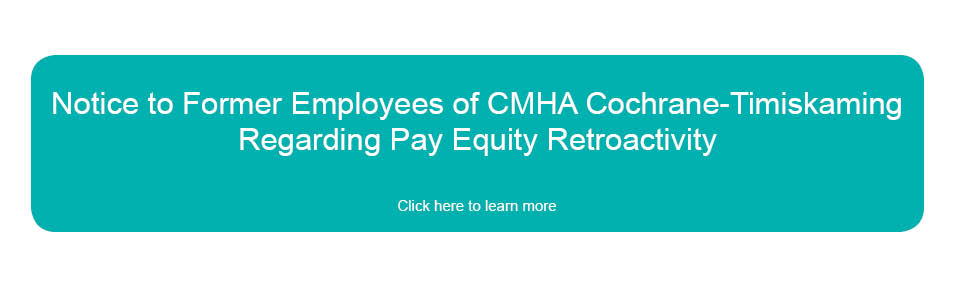 Notice to Former Employees Regarding Pay Equity Retroactivity