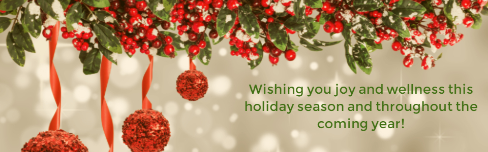 Happy Holidays from CMHA