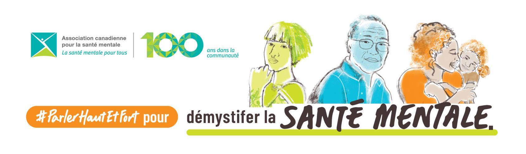 Messages clés de la Semaine de la santé mentale de l'ACSM
